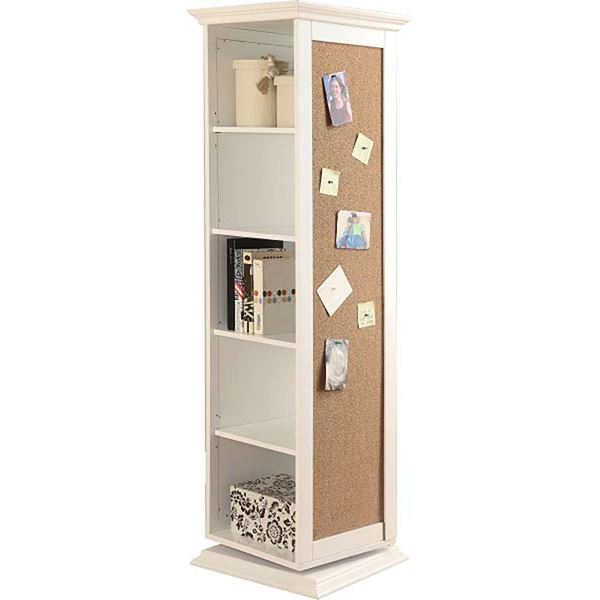 Picture of Swivel Cabinet, White *D