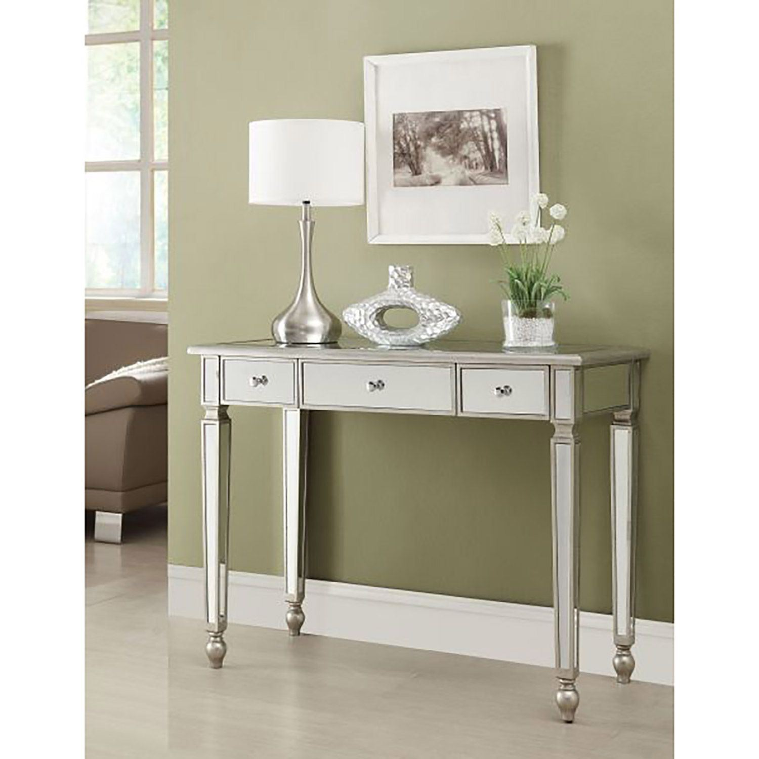 Picture of Console Table, Silver *D