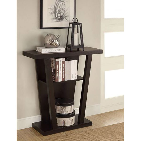 Picture of Console Table, Cappuccino *D