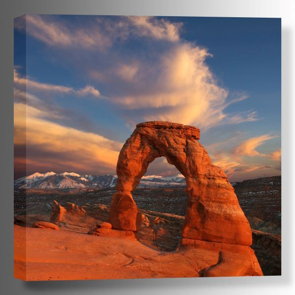 Picture of Delicate Arch at Sunset 36x36 *D