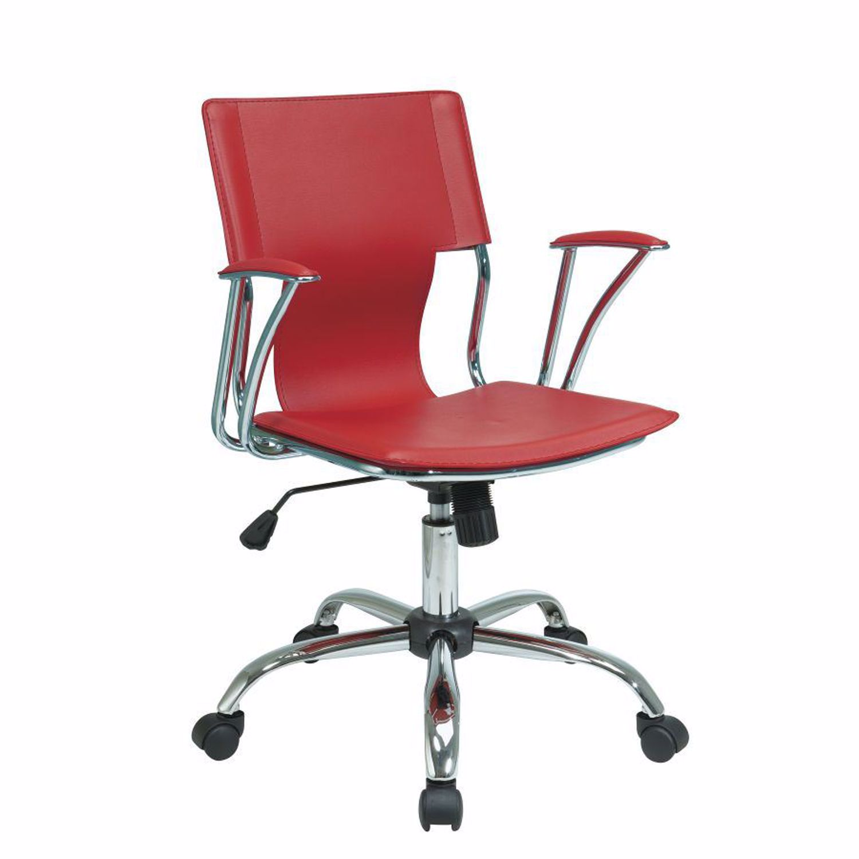 Dorado Red Office Chair D Dor26 Rd