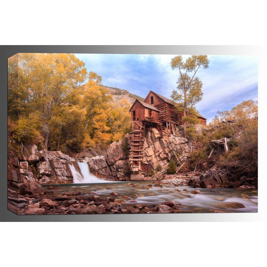 Picture of The Old Crystal Mill 24x36 *D