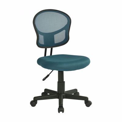 Picture of Mesh Task chair in Blue Fabric *D