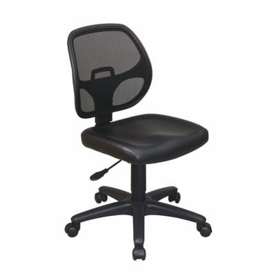 Picture of Mesh Screen Back Task Chair with Vinyl Seat *D