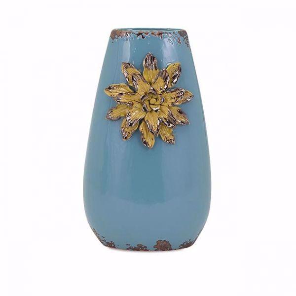 Picture of Kimber Blue Flower Vase