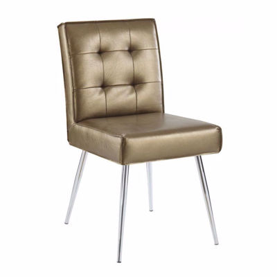 Picture of Copper Tuffed Dining Chair *D