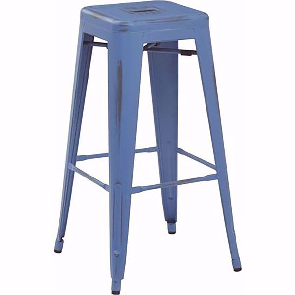 Picture of Bristow Ant Royalblue Barstool 4 Pack *D