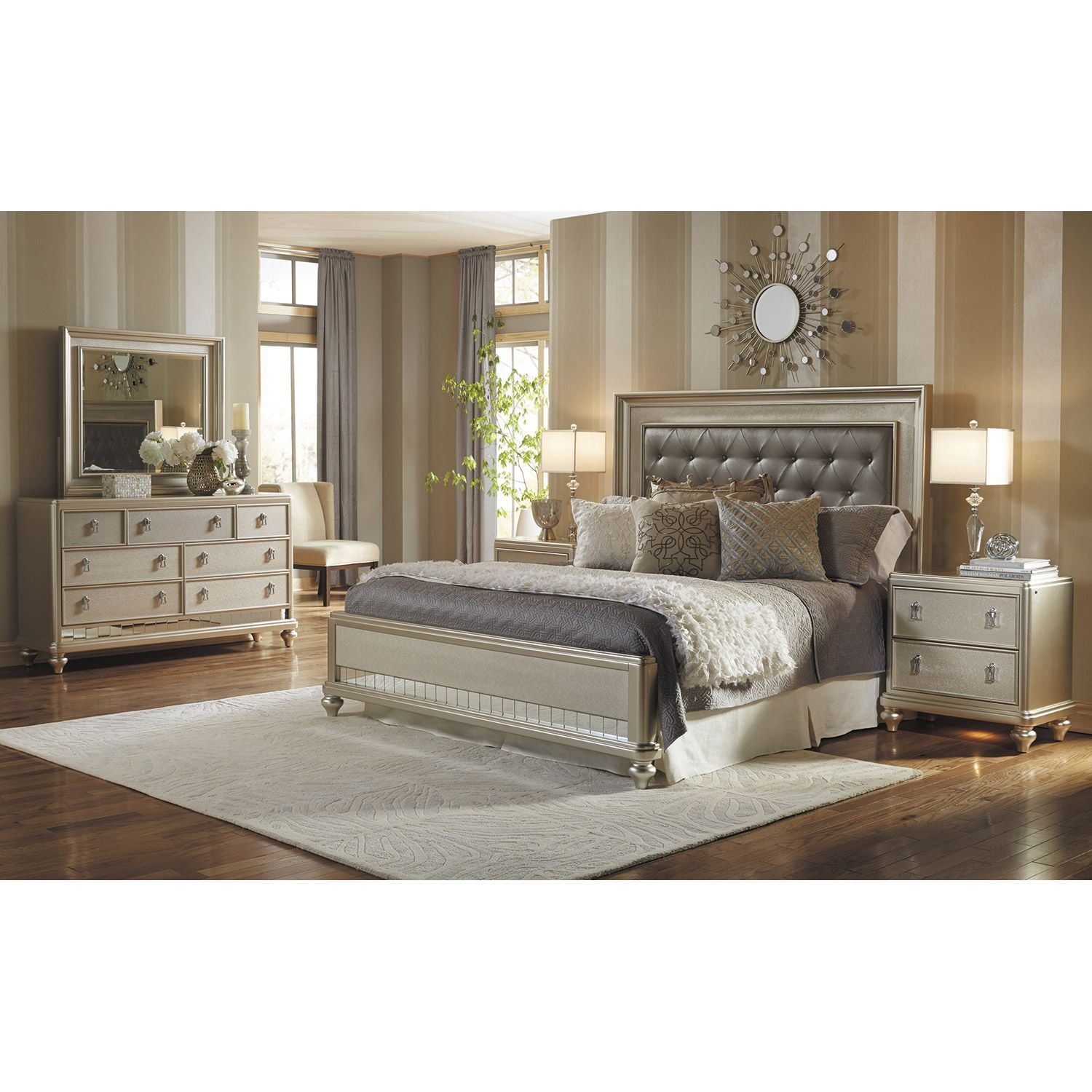 Diva 5 Piece Bedroom Set 8808 Queenbed10305040 Samuel