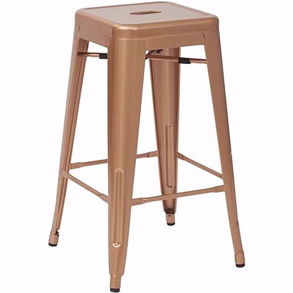 Picture of Bristow Ant Copper Barstool 4 Pack *D