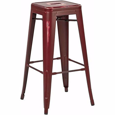 Picture of Bristow Ant Red Barstool 4 Pack *D