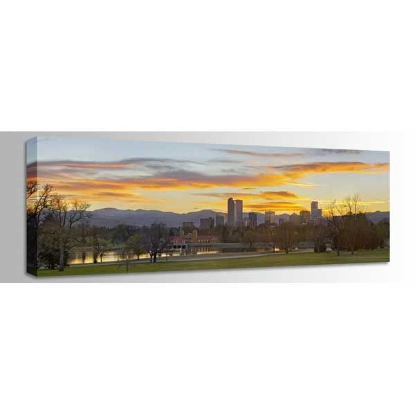 Picture of Denver Sunset 60x20 *D