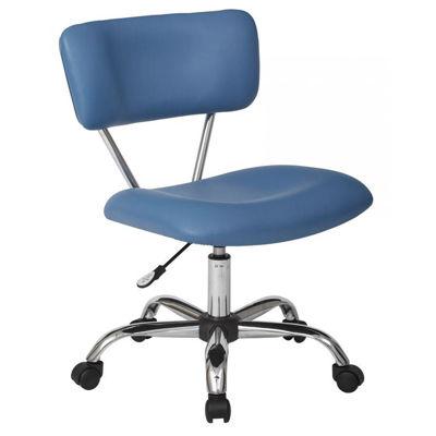 Picture of Vista Blue Vinyl Office Chair *D