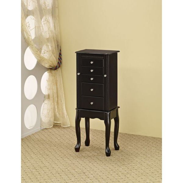 Picture of Jewlery Armoire, Black *D