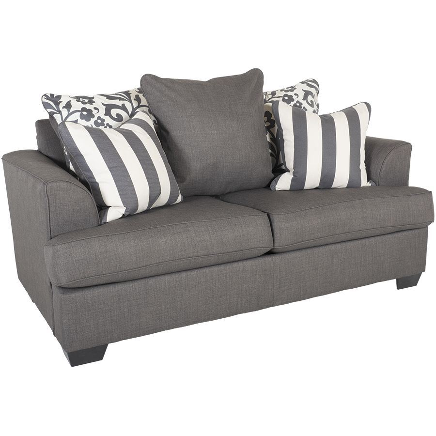 Levon Charcoal Loveseat Ll 734 L Ashley Furniture 7340335 Afw