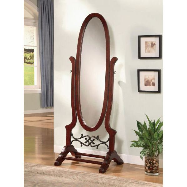 Picture of Cheval Mirror, Brown Red *D