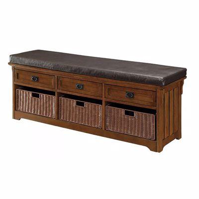 Picture of Storage Bench Medium Brown *D