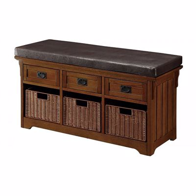 Picture of Storage Bench Brown *D