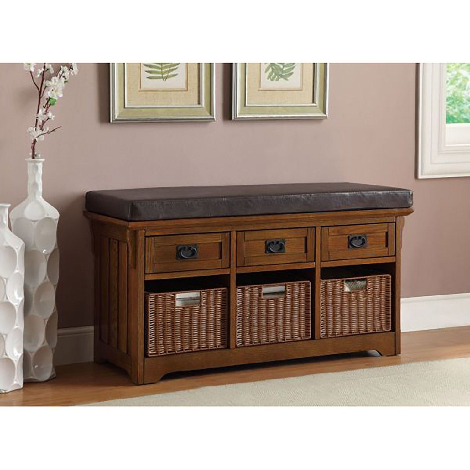 Storage Bench Brown *D | 501061 | Coaster Company Of ...