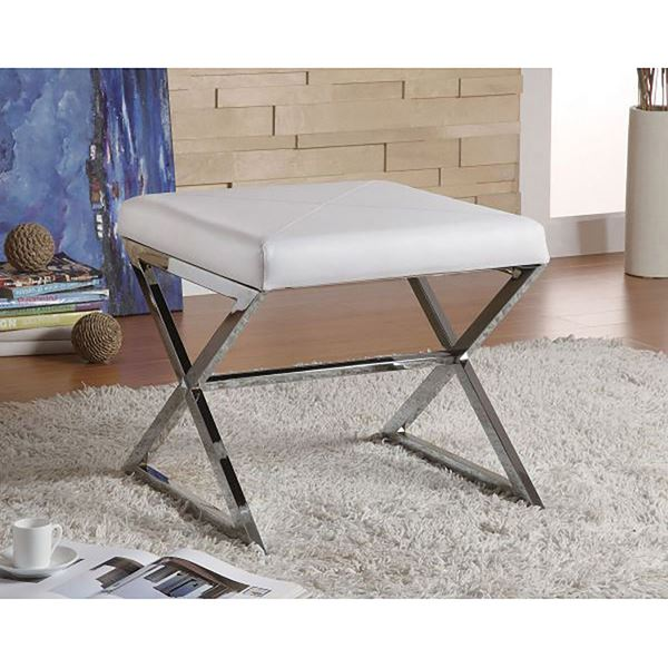 Picture of Stool, White *D