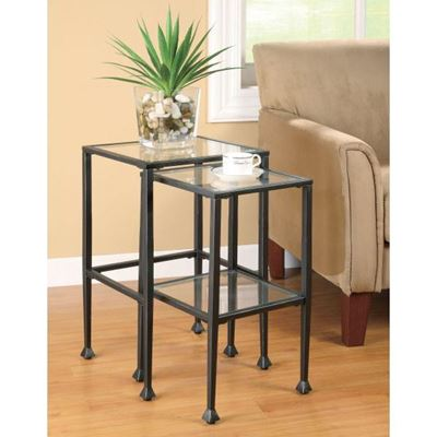 Picture of Nesting Tables, Black *D