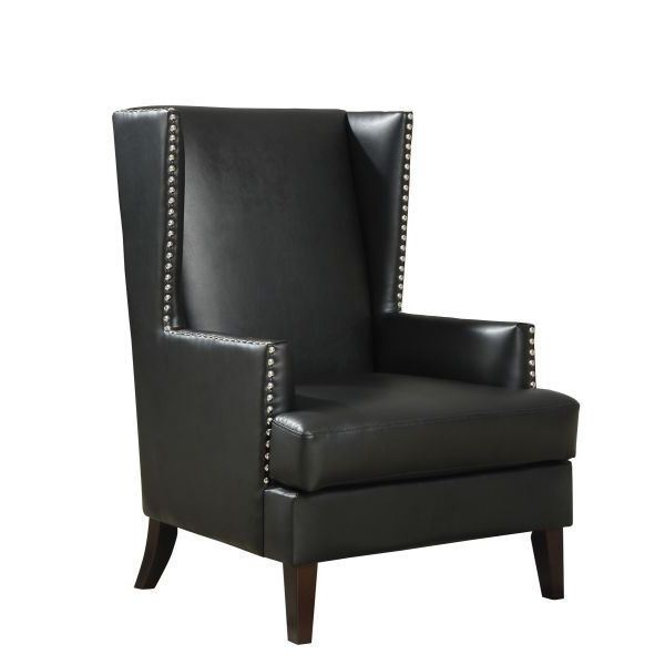 America Accent Chairs.Accent Chair Black D