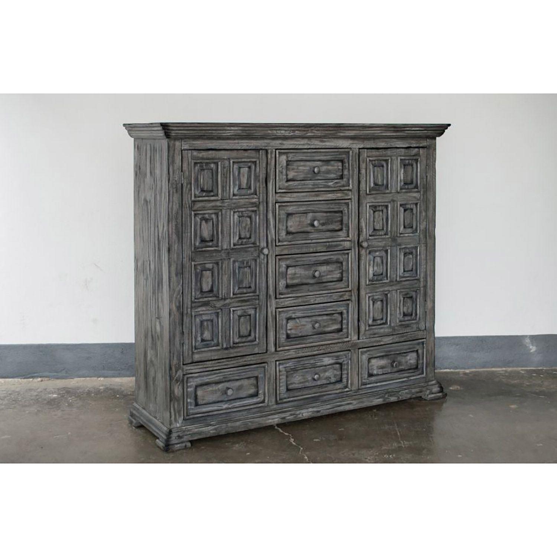 Picture of Grey Isabella 7-Drawer Dresser Cabinet