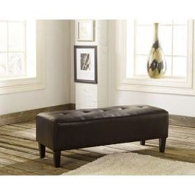 Picture of Brown Sinko Oversized Accent Ottoman *D