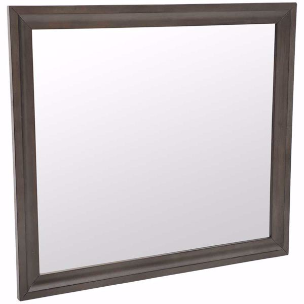 Picture of Antique Grey Mirror