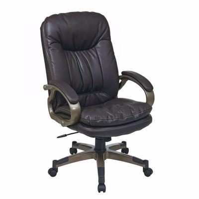 Picture of Exec Espresso Bonded Leather Chair ECH83501-EC1 *D