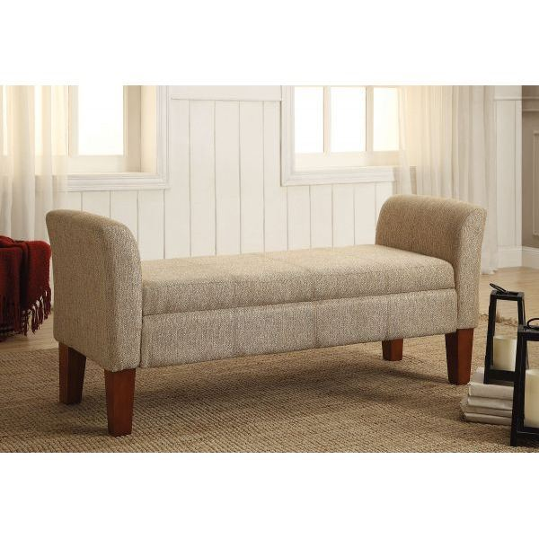 Picture of Storage Bench, Tan *D