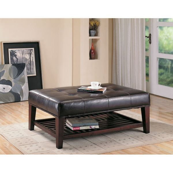 Picture of Brown Ottoman *D