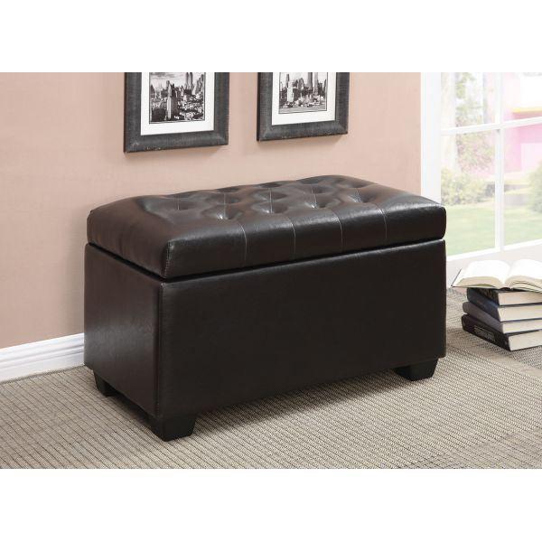 Fantastic Brown Storage Ottoman D Camellatalisay Diy Chair Ideas Camellatalisaycom
