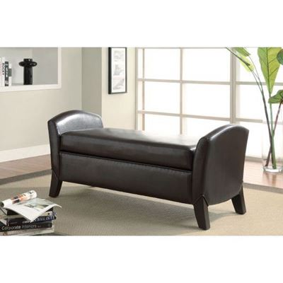 Picture of Storage Bench, Dark Brown *D