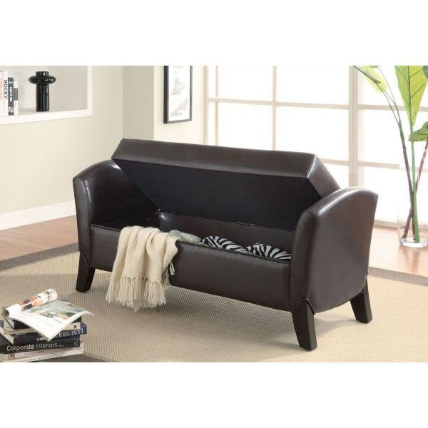 Picture of Storage Bench, Dark Brown *D