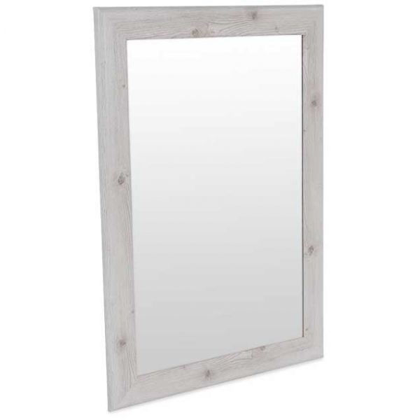 Picture of White Reclaimed Post Wall Mirror