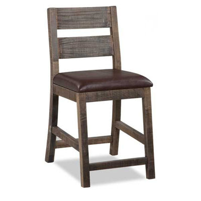 """Picture of Antique 24"""" Barstool"""