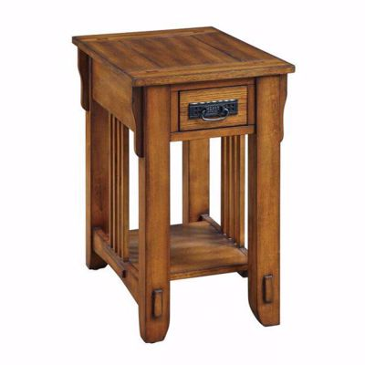 Picture of Chairside Table, Brown *D