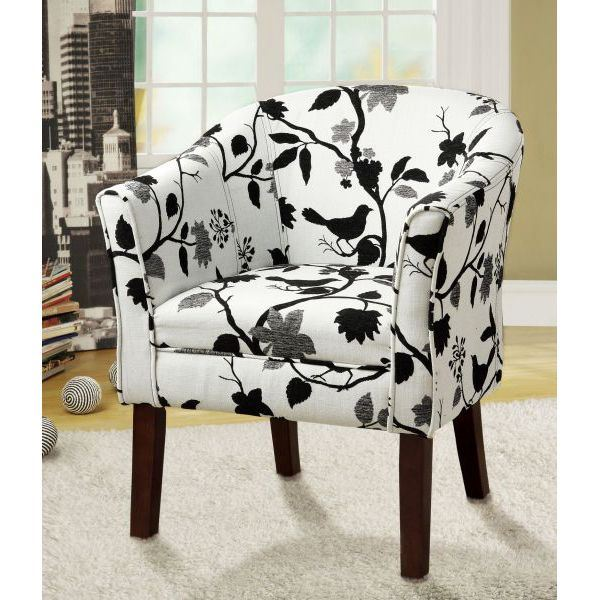 Surprising Accent Chair Black White D Bralicious Painted Fabric Chair Ideas Braliciousco