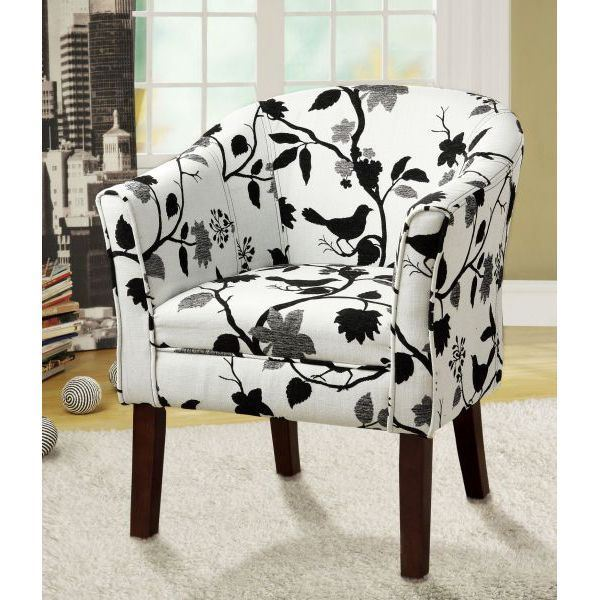 Picture of Accent Chair, Black/White *D