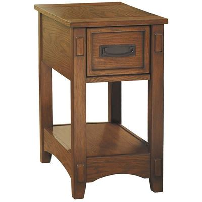 Picture of Breegin Oak Chairside End Table