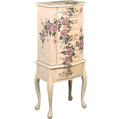 Picture of Jewlery Armoire, Off White *D