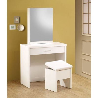 Picture of Two Piece Vanity Set, White *D