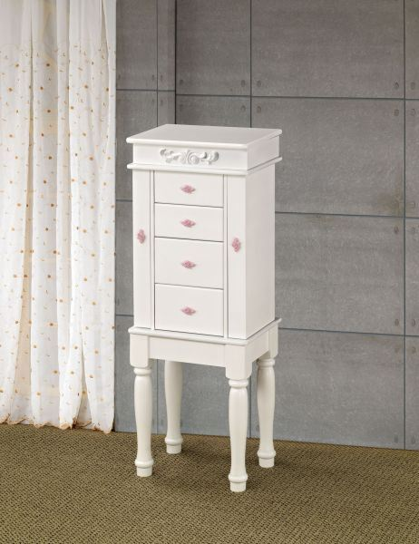 Picture of Jewlery Armoire, White *D