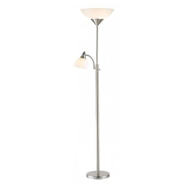 Torchiere Floor Lamp Steel 101 7202stl
