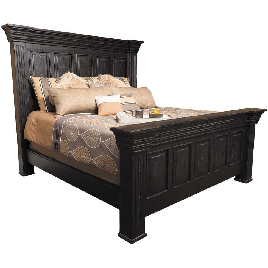 Black Isabella King Bed