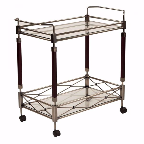Picture of Melrose Brass Serving Cart *D