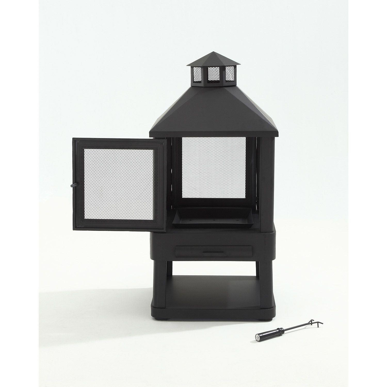 Picture of Monticello Firepit, Black *D