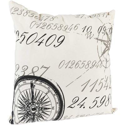 Picture of 20x20 Compass Script Decorative Pillow *P