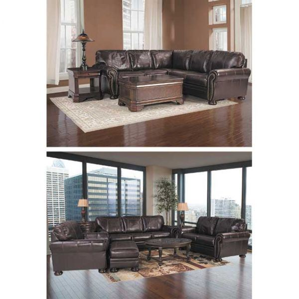 Banner Leather Sofa 5040438 Ashley Furniture Afw Com
