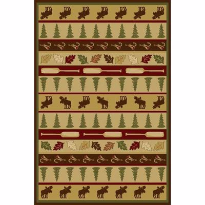 Picture of Woodland Lodge 5x8 Rug